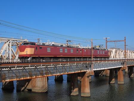クモヤ443   東海道本線新大阪~大阪03