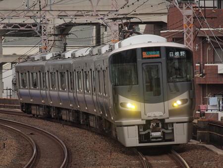 225系区間快速 阪和線美章園駅02
