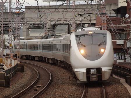 289系特急くろしお  阪和線美章園駅02
