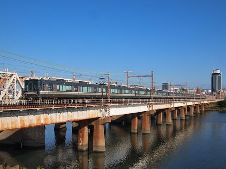 223系快速    東海道本線新大阪~大阪03