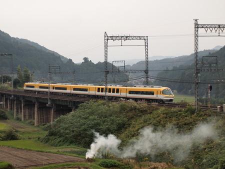 近鉄23000系特急 近鉄大阪線三本松~室生口大野