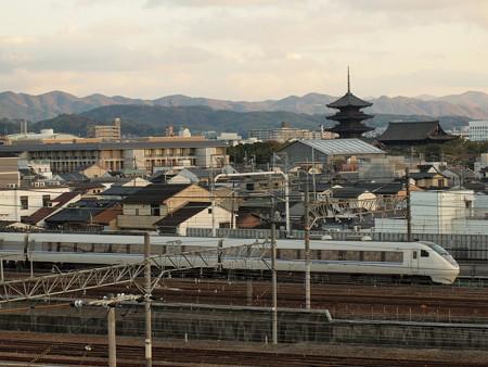 681系特急サンダーバード 東海道本線京都~西大路
