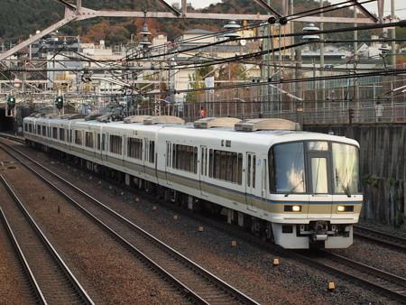 221系普通 東海道本線山科~京都03