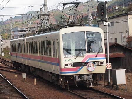 叡電800系 叡山本線宝ヶ池駅