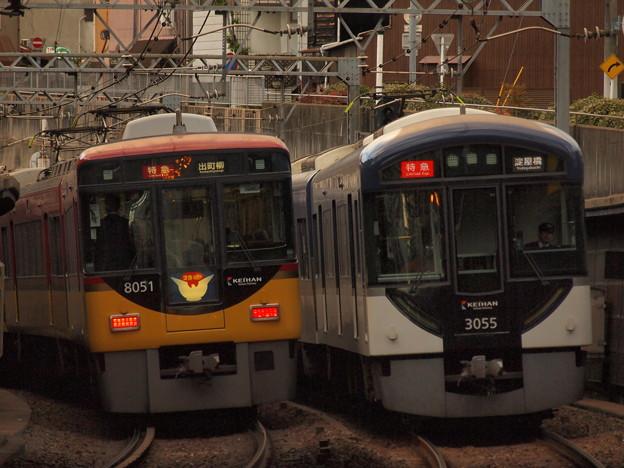京阪3000系特急 京阪本線東福寺~七条01