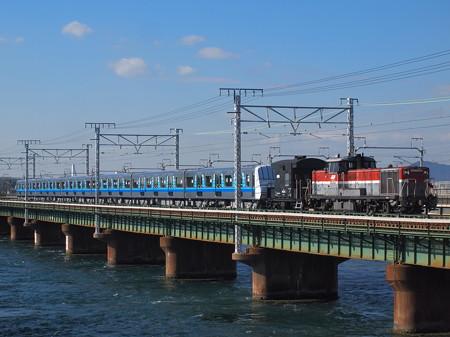 DE10 3000V形甲種 東海道本線新居町~弁天島03