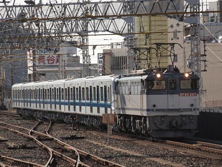 EF65 3000V形甲種 東海道本線浜松駅02