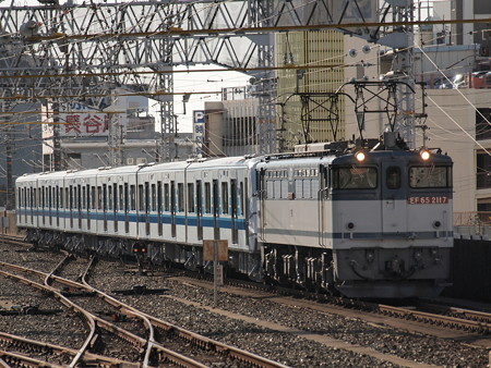 EF65 3000V形甲種 東海道本線浜松駅03
