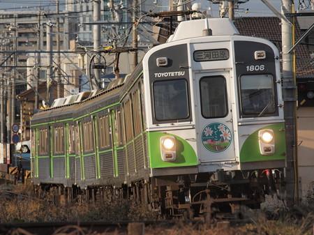 豊橋鉄道1800系 渥美線柳生橋~小池01