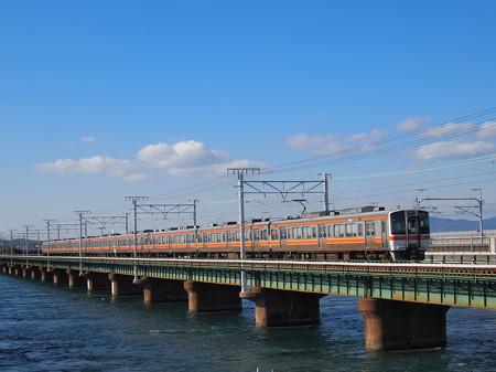 311系普通 東海道本線新居町~弁天島01