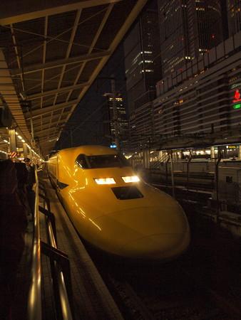 ドクターイエロー 東海道新幹線名古屋駅04