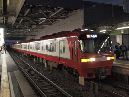 名鉄1000系特急 名鉄名古屋本線神宮前駅01