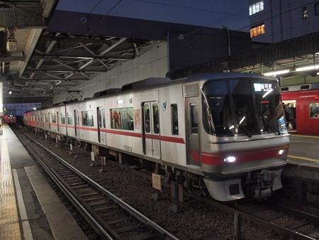 名鉄5000系準急  名鉄名古屋本線神宮前駅03