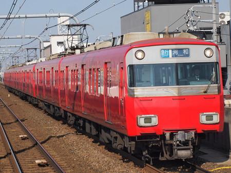 名鉄6500系急行 名鉄常滑線柴田駅