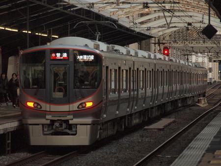 323系普通  大阪環状線大正駅02