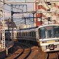 221系大和路快速 大阪環状線寺田町駅01