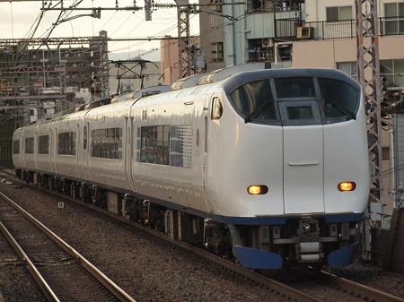 281系特急はるか 大阪環状線大正駅