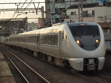 289系特急くろしお 大阪環状線大正駅