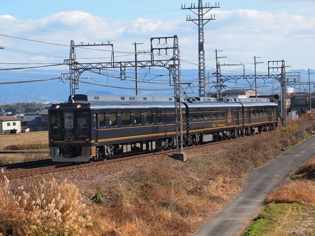 近鉄16200系青の交響曲  近鉄南大阪線二上山~二上神社口01
