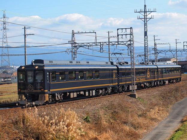 近鉄16200系青の交響曲  近鉄南大阪線二上山~二上神社口02