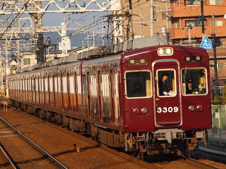 阪急3300系普通 阪急京都線南茨木駅