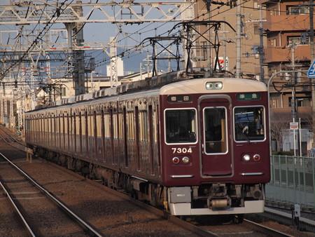 阪急7300系準急 阪急京都線南茨木駅02