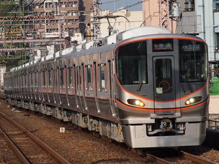 323系普通 大阪環状線大正駅03