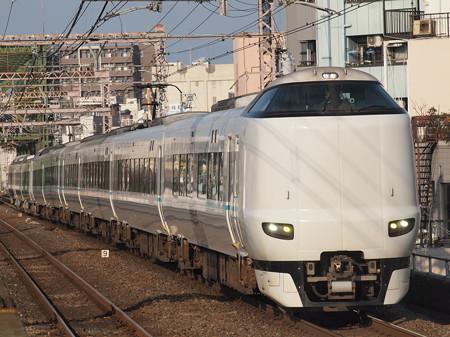 287系特急くろしお 大阪環状線大正駅01
