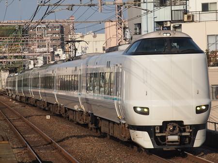287系特急くろしお 大阪環状線大正駅02