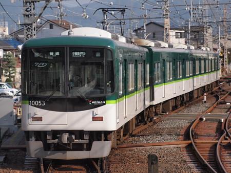 京阪10000系普通  京阪宇治線中書島駅01