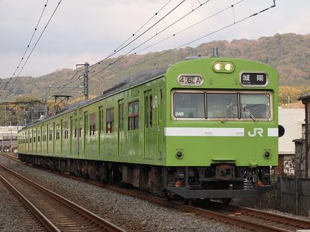 103系普通   奈良線稲荷~JR藤森01