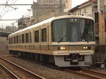 221系普通   奈良線稲荷~JR藤森01