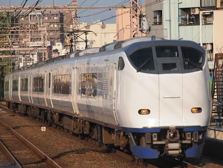 281系特急はるか  大阪環状線大正駅01