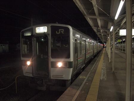 719系普通 東北本線黒磯駅