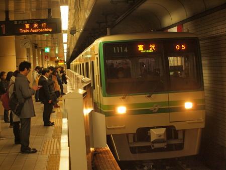 仙台市営地下鉄1000系 南北線仙台駅