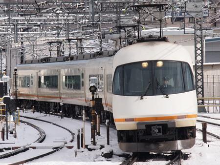 近鉄21000系アーバンライナー回送 近鉄名古屋線米野駅