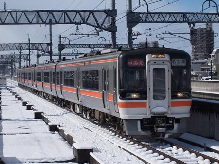 キハ75形快速みえ 関西本線八田駅01