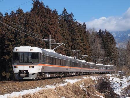 383系特急しなの  中央本線大桑~野尻01