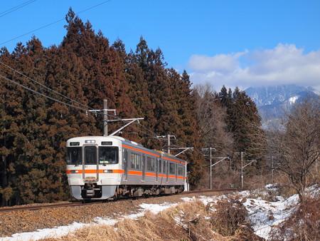 313系普通  中央本線大桑~野尻01