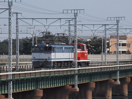 EF65 KE65甲種 東海道本線弁天島~新居町01