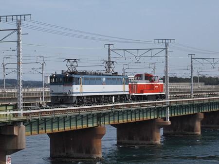 EF65 KE65甲種 東海道本線弁天島~新居町02
