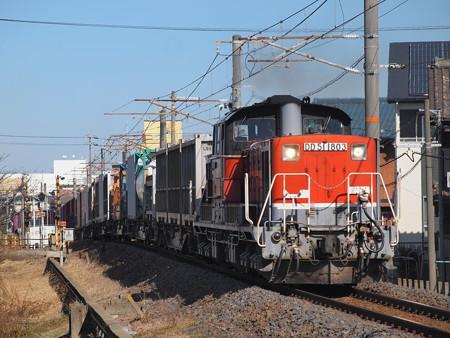 DD51貨物 関西本線富田~富田浜02
