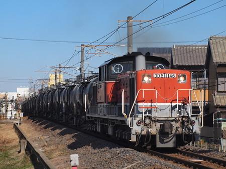 DD51貨物 関西本線富田~富田浜06