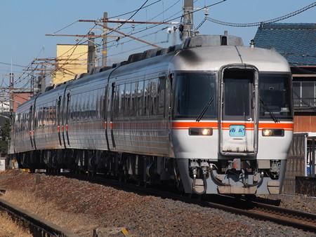 キハ85系特急ワイドビュー南紀 関西本線富田~富田浜