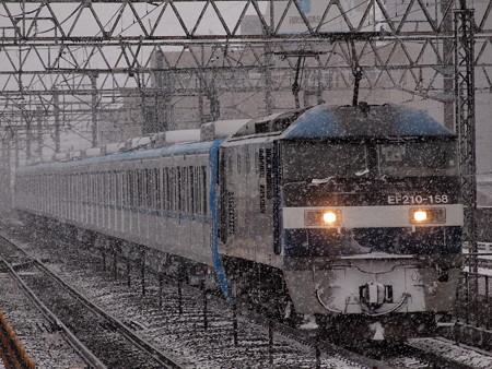 EF210 メトロ15000系甲種 東海道本線尾張一宮駅04