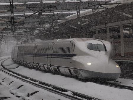 N700系のぞみ  東海道新幹線米原駅03