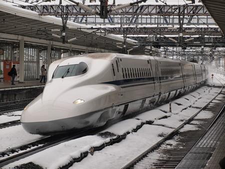 N700系のぞみ  東海道新幹線米原駅06