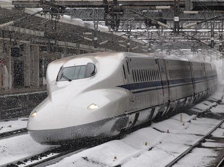 N700系のぞみ  東海道新幹線米原駅08