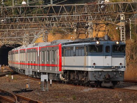 EF65 東武70000系甲種 東海道本線熱海駅02