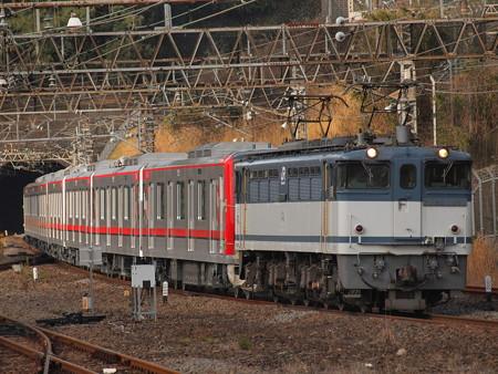 EF65 東武70000系甲種 東海道本線熱海駅03